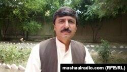 د پښتونخوا ملي عوامي پارټۍ صوبايي مشر عثمان خان کاکړ