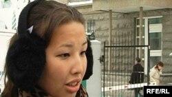 Мұхтар Жәкішевтің қызы Әйгерім Жәкішева. Астана, 5 қаңтар, 2010 жыл