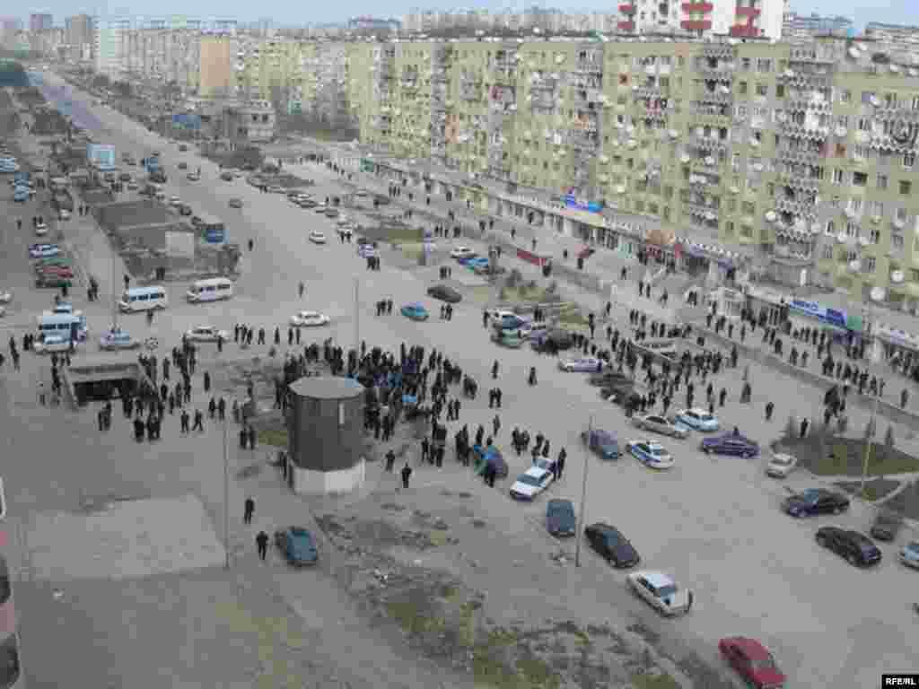 Azerbaijan -- protest (AZSL)