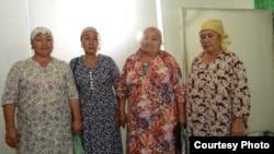 Задержанные женщины.