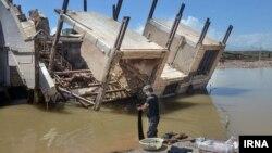 Последствия наводнения в иранской провинции Лорестан, 3 апреля 2019 г.