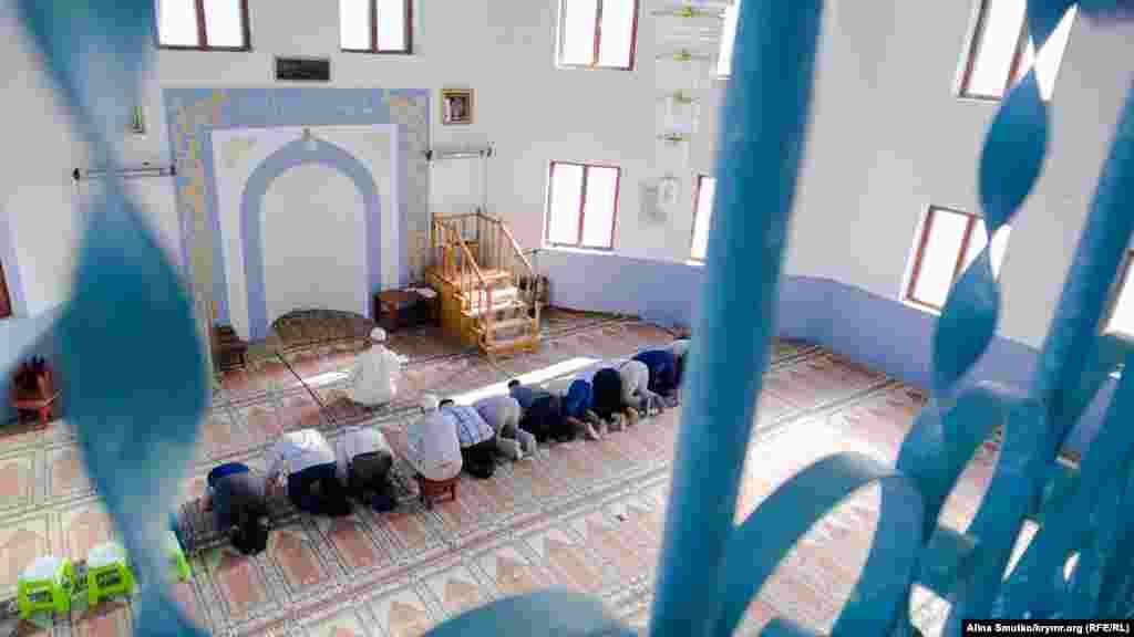 Qırım, Kefe civarındaki Baybuğa (Blijneye) köyünde Qurban Bayramı