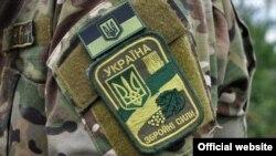 Нарукавний знак військовослужбовця Збройних сил України