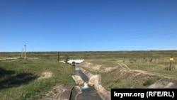 Сброс воды с Тайганского водохранилища