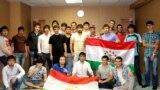Як гурӯҳи донишҷӯёни тоҷик дар Русия