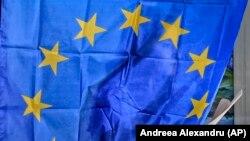 O alegătoare din România la alegerile europarlamentare. 26 mai 2019