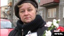 Зінаіда Шуміліна, гомельская актывістка АГП, архіўнае фота
