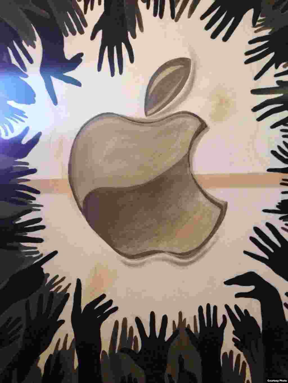 """""""iPhone"""", ЭркинбекАкылбек уулу."""