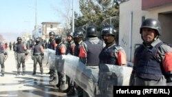 Антиправительственная акция в провинции Гильменд, 9 февраля 2013 года.