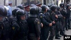 Припадници на руската полиција
