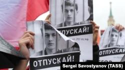 Предыдущий митинг на проспекте Сахарова 10 августа