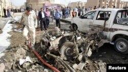 Իրաք -- պայթյուն Քիրքուք քաղաքում, 15-ը ապրիլի, 2013