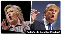 претседатлските кандидати Хилари Клинтон и Доналд Трамп