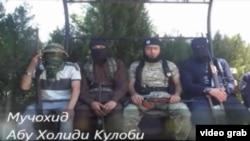Сирияда соғысып жүрген Тәжікстан азаматтары туралы видео.