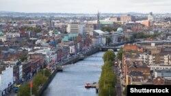 Панорама Дублина.