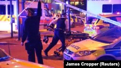 Припадници на полициските сили во Лондон