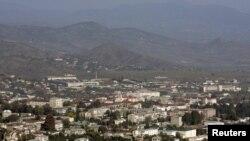 Вид на Степанакерт.