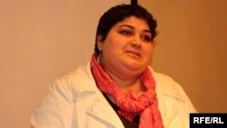 Khadija Ismayilova, a journalist with RFE/RL's Azerbaijani Service