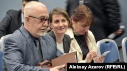 Светлана Спатарь (ортасында). Алматы, 31 мамыр 2018 жыл