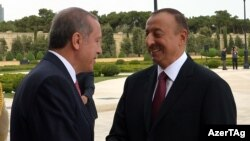 Türkiyə və Azərbaycan prezidentləri (arxiv fotosu)