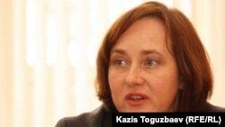 Марина Сугакова, директор учреждения семейного типа «Ковчег». Алматы, 24 декабря 2013 года.