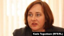 "Марина Сугакова, ""Ковчег"" ұйымының директоры. Алматы, 24 желтоқсан 2013 жыл"