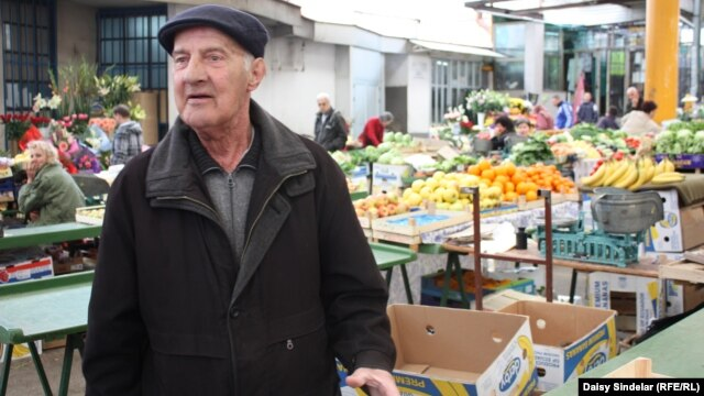 """There was literally a river of blood,"" says Esad Pozder, 72, one of the last remaining survivors of the August 1995 bombing of Sarajevo's central Merkale market by Serbian forces."