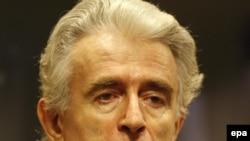 Radovan Karadzic in The Hague