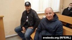 Уладзімер Няронскі (справа)