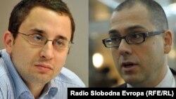 Filip Ejdus i Aleksandar Radić
