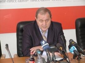 Ukraine's Interior Minister Anatoliy Mohyliov