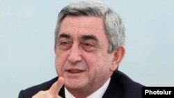 Armenia - President Serzh Sarkisian.