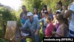 Майстар-кляс ад Алеся Марачкіна
