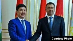 Темир Сариев и Кохир Расулзода.
