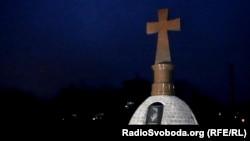 Пам'ятник жертвам Голодомору в Україні у Кропивницькому