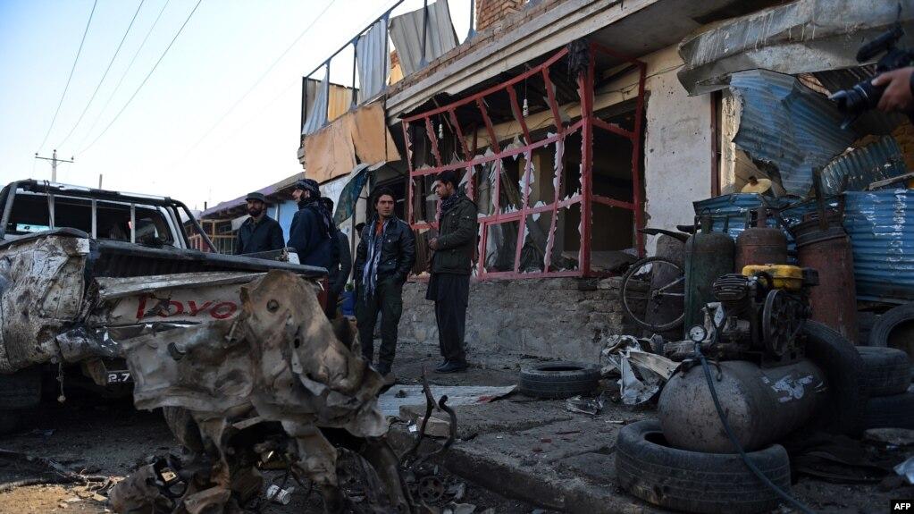 UN Reports 2015 Uptick In Afghanistan Civilian Casualties