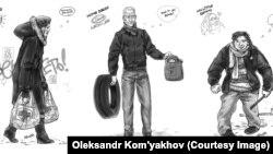 Euromaidan Art: Portraits From The Barricades
