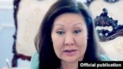 Экс-депутат Жогорку Кенеша Асия Сасыкбаева.