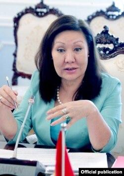 Асия Сасыкбаева.