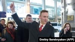 Алексей Навальный. 25 декабря 2017 года.