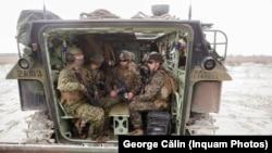 Militari americani la Capul Midia. 11 mai 2019