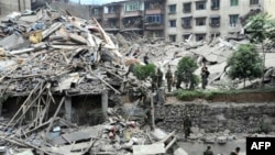 Китайскую землю продолжает трясти. Провинция Сычуань, 13 мая