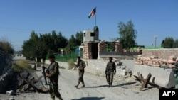 په کندوز کې افغان ځواکونه