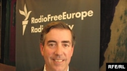 Rodger Potocki at RFE/RL in Prague