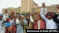 طلاب جامعة الموصل يحتفلون بعيد تأسيس جامعتهم