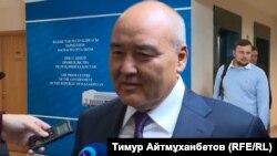 Заместитель премьер-министра — министр сельского хозяйства Казахстана Умирзак Шукеев. Астана, 23 января 2018 года.
