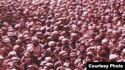Mineri invadînd Bucureștiul, iunie 1990