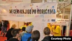'Žive knjige' na Beogradskom sajmu knjige, fotografije: Savet Evrope