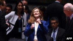 ՄԱԿ-ում ԱՄՆ-ի մշտական ներկայացուցիչ Սամանթա Փաուեր, արխիվ