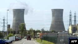 A nuclear power plant in the French town of Pierrelatte -- France fared particularly poorly in the report.